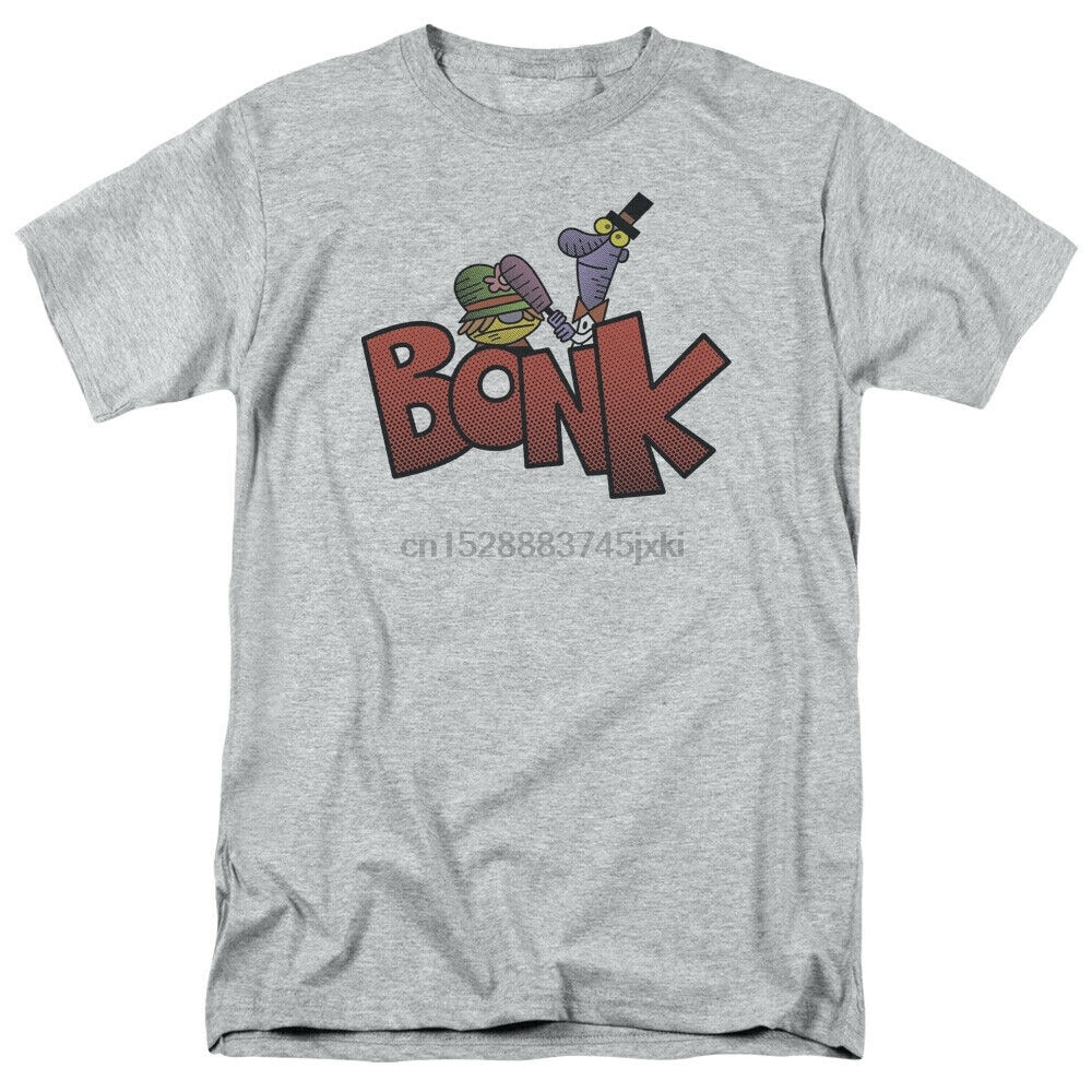 Dexters laboratorio Bonk Camiseta de manga corta con licencia gráfico SM-5X camisetas Punk