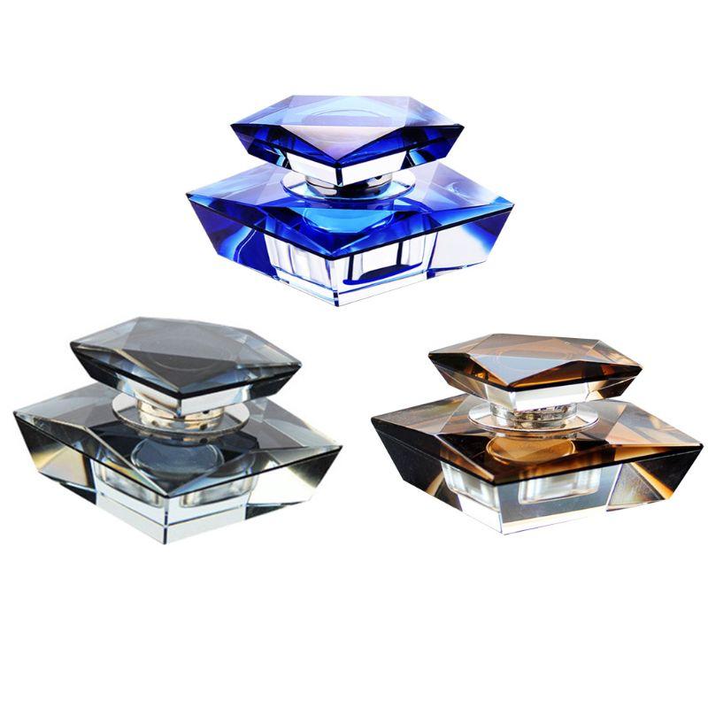 Exquisito modelo de cristal para Perfume de coche, botella de fragancia, ambientador automático T8WF