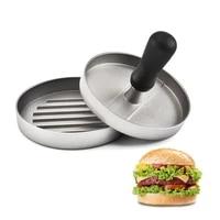 burger meat press hamburger mold pressure meat pie grinder maker round shape non stick stuffed burger patties cooking tools