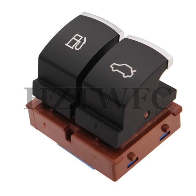 Botón de apertura de maletero cromado para puerta de tanque de combustible para VW Passat B6 para VW Jetta MK6 EOS CC 35D 959 903 3C0 959 903 B