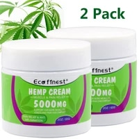 2pack 5000mg natural organic ointment for back joint pain relief balm anti inflammatorypain reliefrefreshing 60g