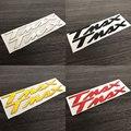 Мотоцикл наклейки эмблемы 3D поднял Танк колеса логотип для Yamaha TMAX 500/530 TMAX500 TMAX530 T-MAX 500/530 - фото