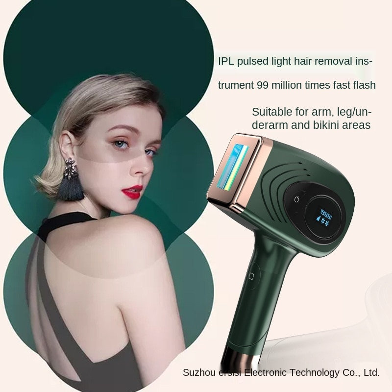 Electric shaver IPL photon hair removal device household multifunctional skin rejuvenation laser hair removal device unisex new