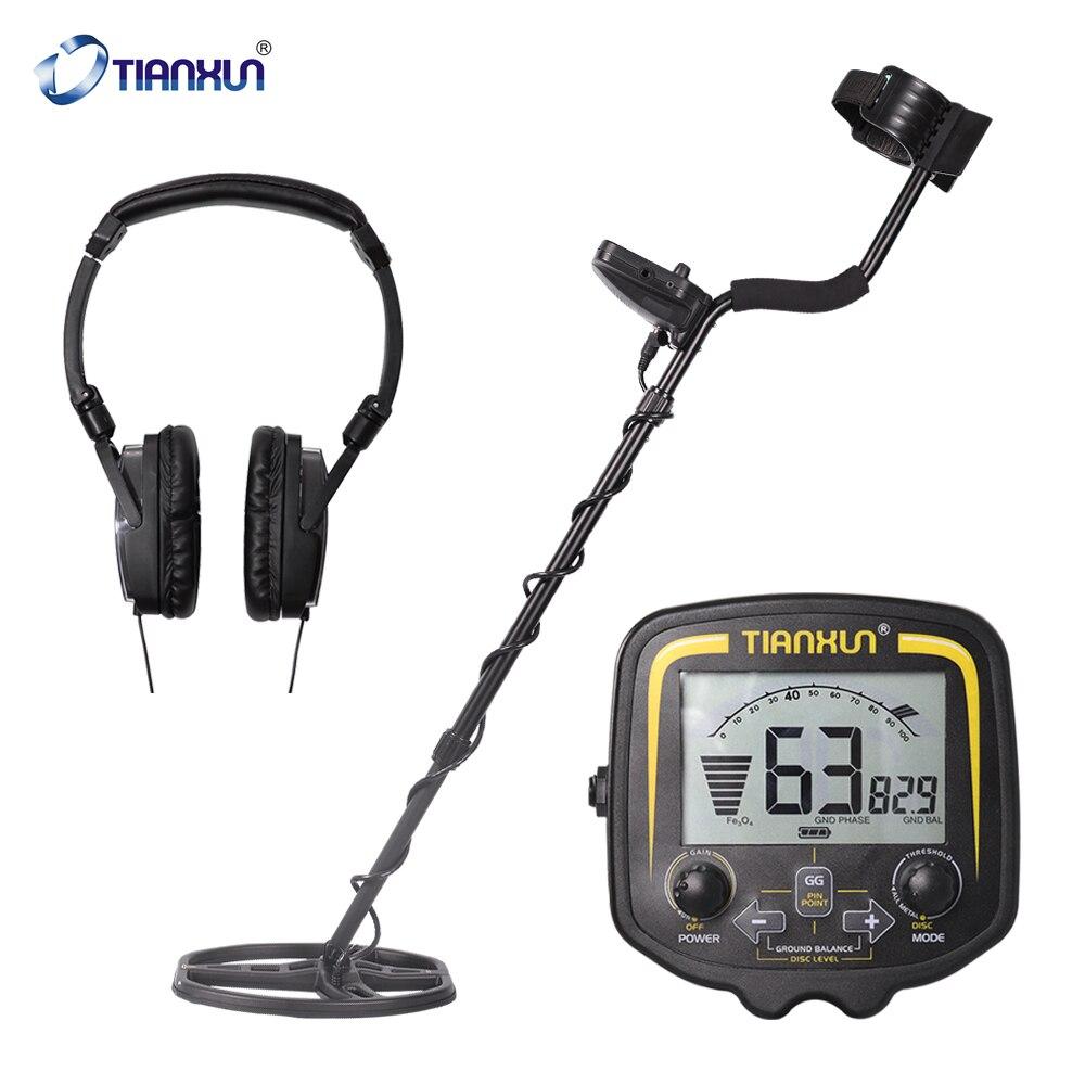 Металлоискатель TX-850 подземный Высокочувствительный инструмент для обнаружения металла с ЖК-дисплеем