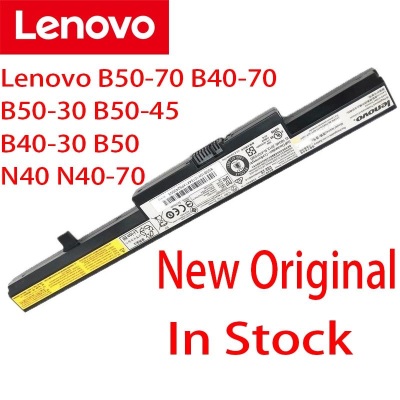 لينوفو الأصلي L13L4A01 2200mAh بطارية كمبيوتر محمول لينوفو B50-70 B40-70 B50-30 B50-45 B40-30 B50 N40 N40-70 L13S4A01 L13M4A01