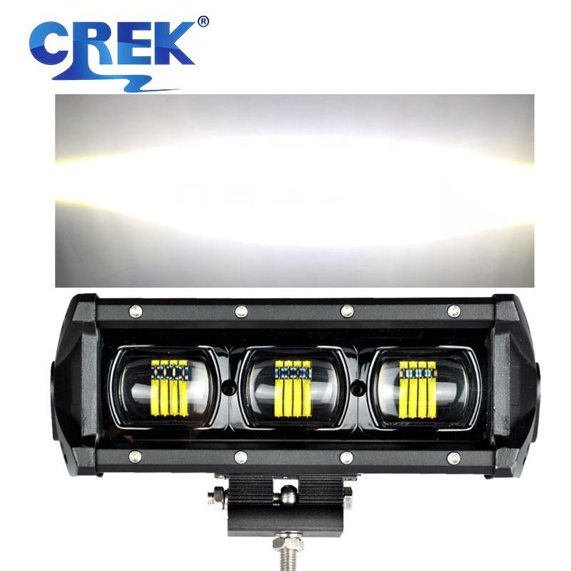 "CREK 8 15 21 28 34 41 47 53"" 6D Offroad LED Work Light Bar ATV Bar Truck 4x4 4wd SUV LED Bar For SUV ATV 4WD 4x4 Jeep Offroad"