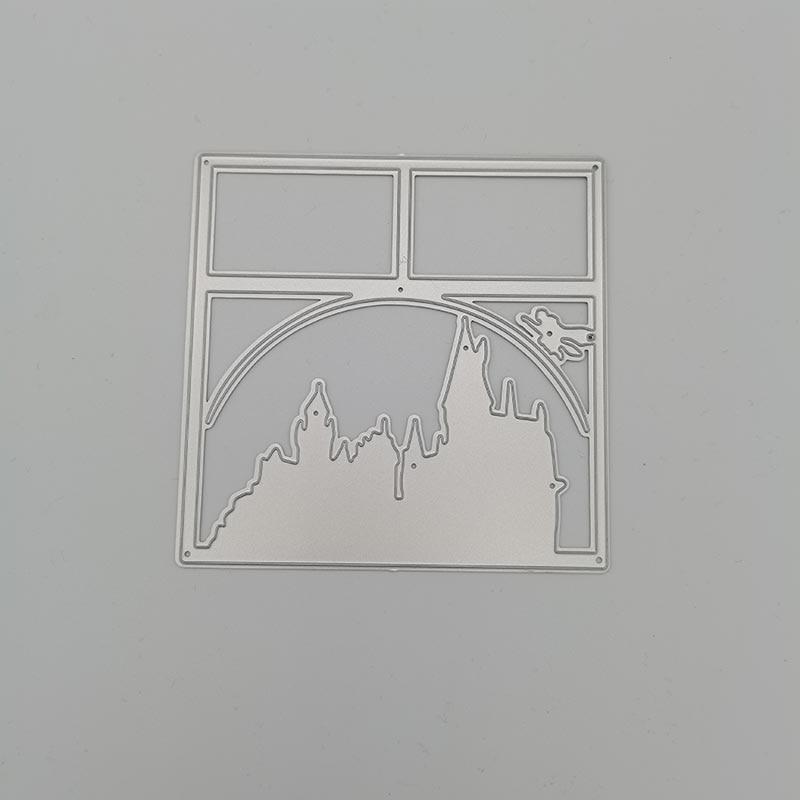 Металлические штампы для высечки трапециевидный замок штампы для скрапбукинга металлические штампы для рукоделия штампы для тиснения Нов...