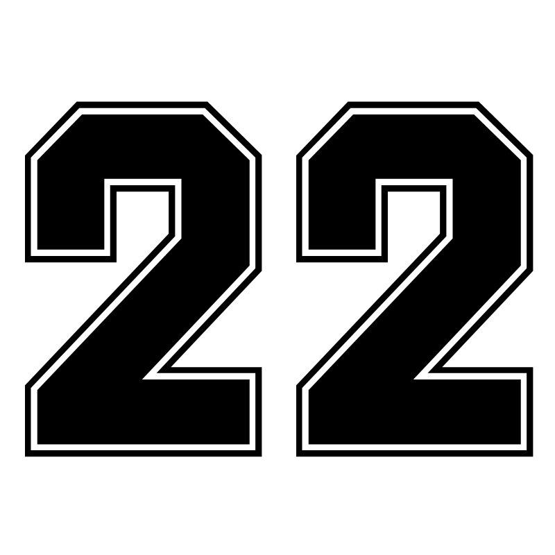 20*14 см номера 22 Смешные автомобильные Стикеры виниловые наклейки в виде Фотообоев c переводными картинками серебро/черный авто Стикеры s для...