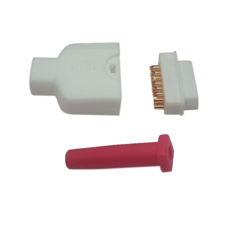 15 Pin SpO2 Connector Female Assembled for Masimo P7 P5 P6 Patient Monitor Blood Oxygen SpO2 Sensor