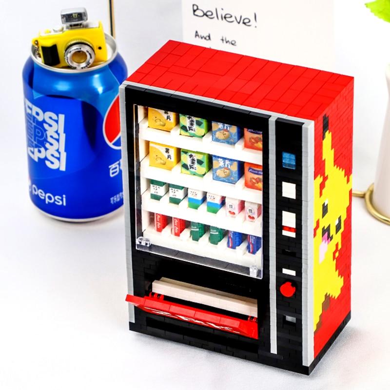 AliExpress - ZRK Diamond Particle bricks Assembled mini DIY Building Block Toy Creative DIY Gift 7823 Vending Machine toys birthday for boys