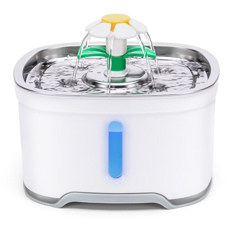 نافورة مياه الشرب للكلاب والقطط ، سعة 1 ، 6 لتر ، شارب USB أوتوماتيكي فائق الهدوء ، وعاء التغذية ، موزع مشروبات الحيوانات الأليفة