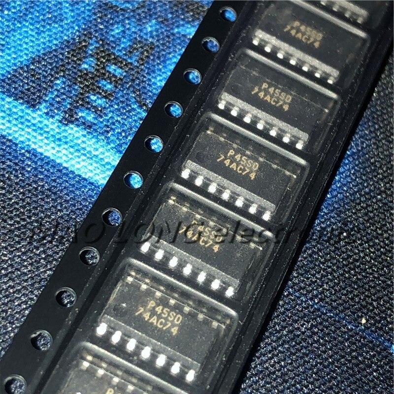 10 unids/lote 74AC74SCX SOP-14 74AC74 74AC74SC SOP14 SOP en Stock Original genuino 3,9mm de circuitos integrados de lógica