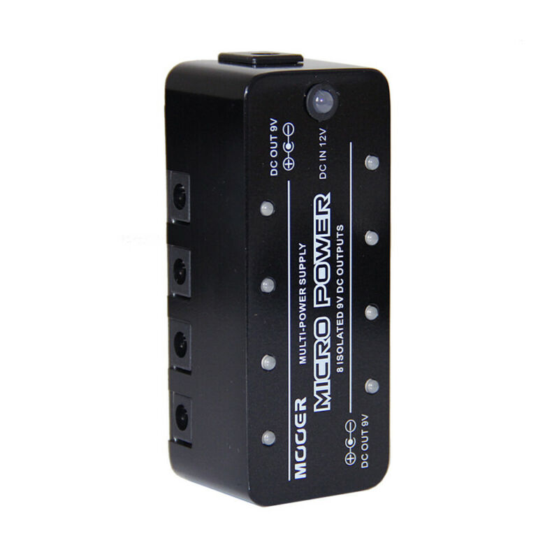 Mooer Mpw1 Micro Power Electronic Pedal Electric Guitar Effect Pedal Power Supply Guitar Parts Accessories 8 Port 9V Synthesizer enlarge