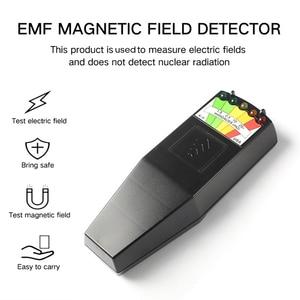 5 Led EMF Meter Magnetizing Field Detector K-2 K2 KII kii EMF METER GHOST HUNTING Equipment Adventures BLACK Paranormal Counter
