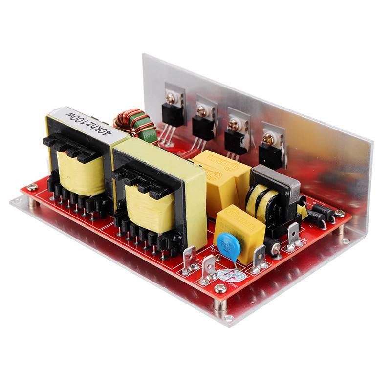 100 واط 28 كيلو/40 كيلو بالموجات فوق الصوتية الأنظف قرص طاقة مجلس عالية الأداء لوحة دوائر كهربائية 220VAC بالموجات فوق الصوتية الأنظف أجزاء 132*85*45 مل...