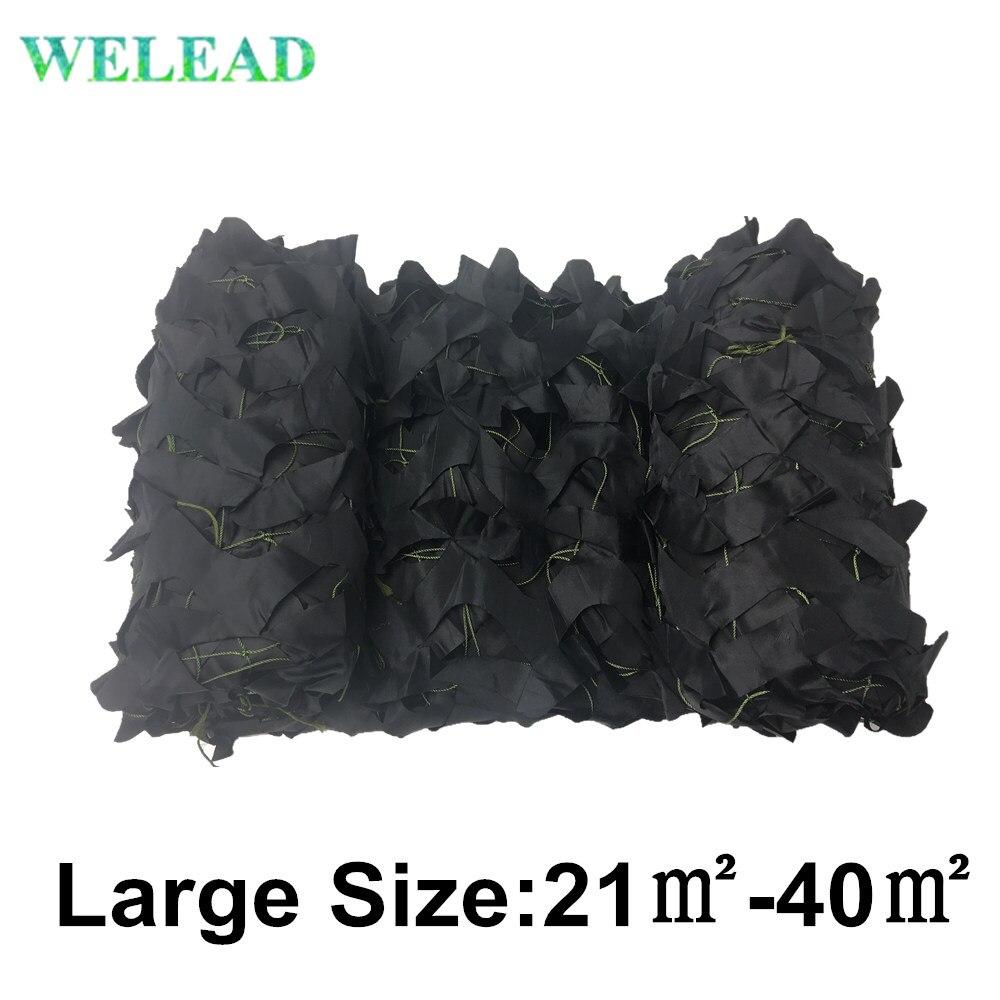 WELEAD-toldos de camuflaje reforzado para jardín, malla militar de gran tamaño, 3x7,...
