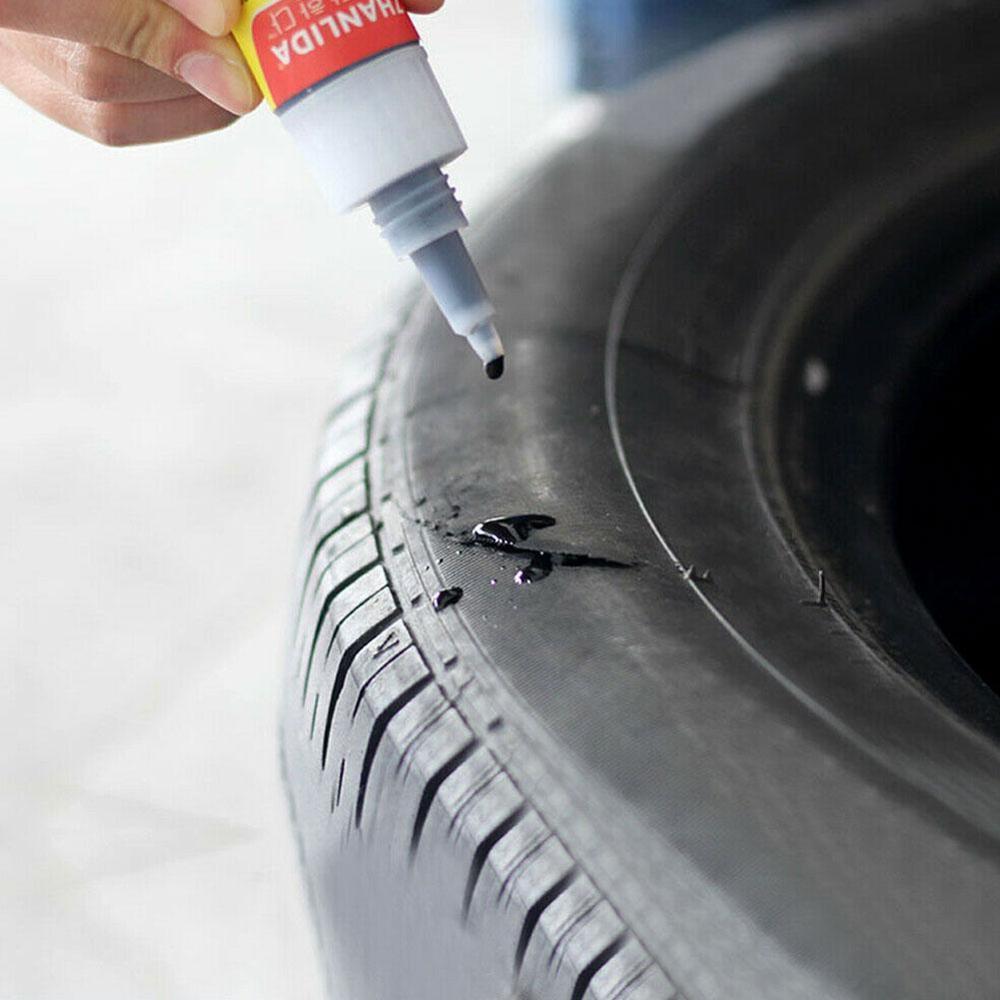 Клей для ремонта автомобильных шин, герметизирующие клейкие уплотнители, супер герметичный клей для ремонта автомобильной резины, фотолюм...
