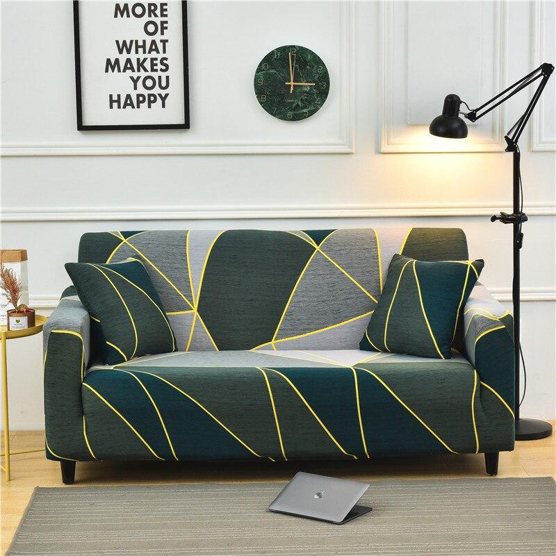 Набор моющихся эластичных Противоскользящих чехлов для дивана, комплект длинных чехлов для кушетки, кресла для гостиной
