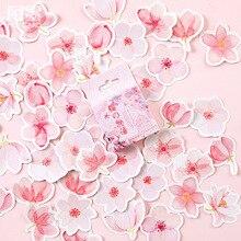 Mohamm Japanse Kersenbloesems Planner Bloem Dagboek Deco Papier Kleine Kawaii Stickers Stationaire Scrapbooking Journal