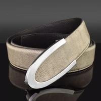 high quality c letter grey belt men casual luxury fashion cowskin waistband genuine leather designer waist strap suit belt