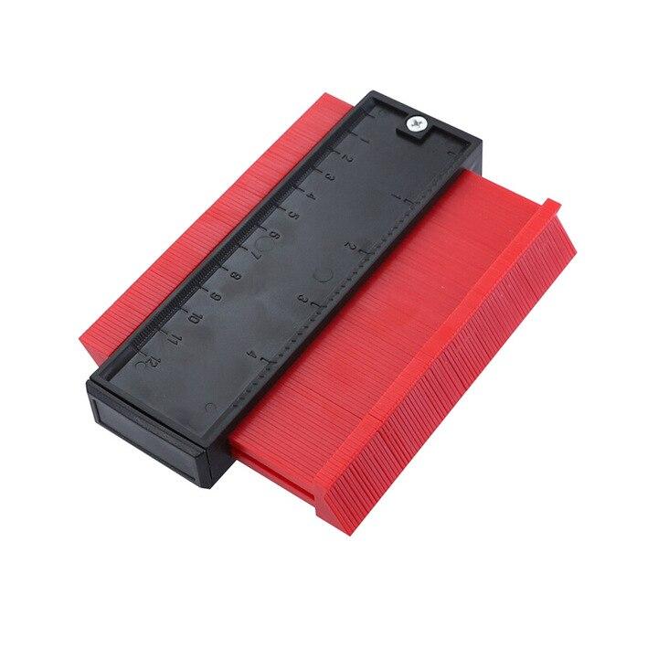 Calibrador de copia, medidor de contorno, duplicador, plantilla de balanza de perfil multifuncional de 5/10 pulgadas, Escala de curvatura, herramientas de carpintería