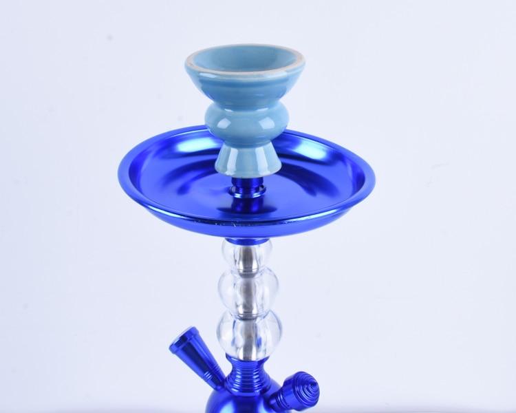 Arab Hookah Factory Direct Set Finished Product Single Tube Custom Hookah Glass Shisha enlarge
