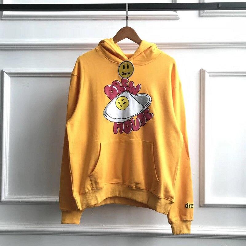 2020ss Slippers Printed Just Bieber Drew House Hoodies Women Men Hooded Sweatshirt Hiphop Men Hoodies Pullovers