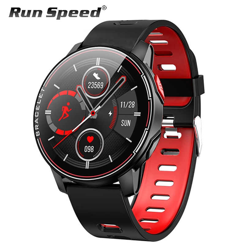 L6 IP68 مقاوم للماء ساعة ذكية 2020 جهاز تعقب للياقة البدنية مراقب معدل ضربات القلب الذكية whatsapp الرجال النساء Smartwatch ل أندرويد IOS