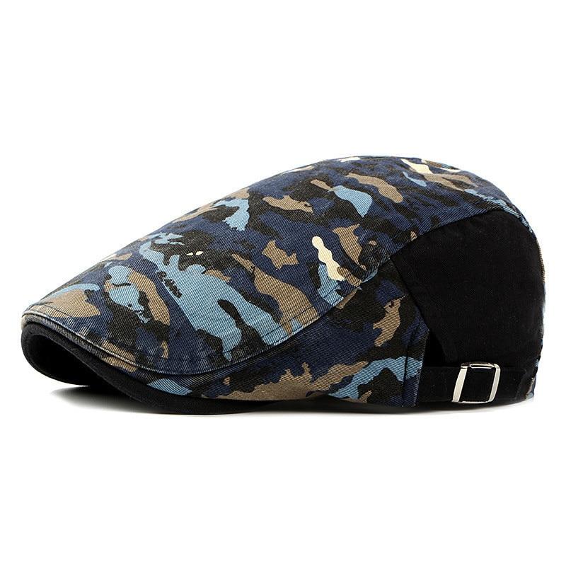 Gorra para hombre de alta calidad Duckbill Newsboy Gatsby gorra de Golf de conducción de boina hiedra para hombre