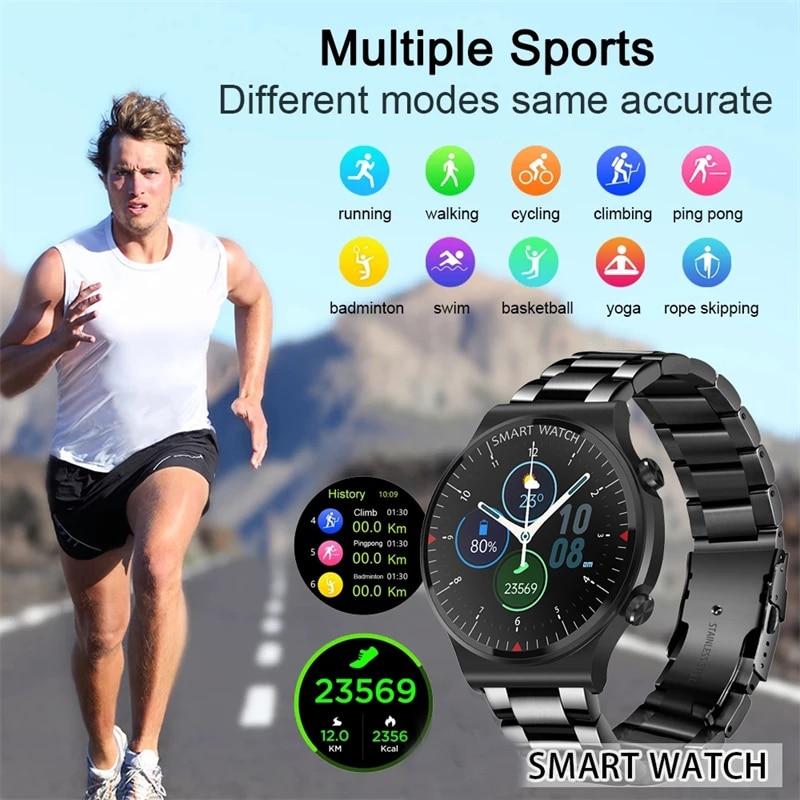 2021 Smart Watch Men Bluetooth Call Music Player smartwatch Women For Xiaomi Huawei Phone 2021 New Mens Sports Fitness Tracker