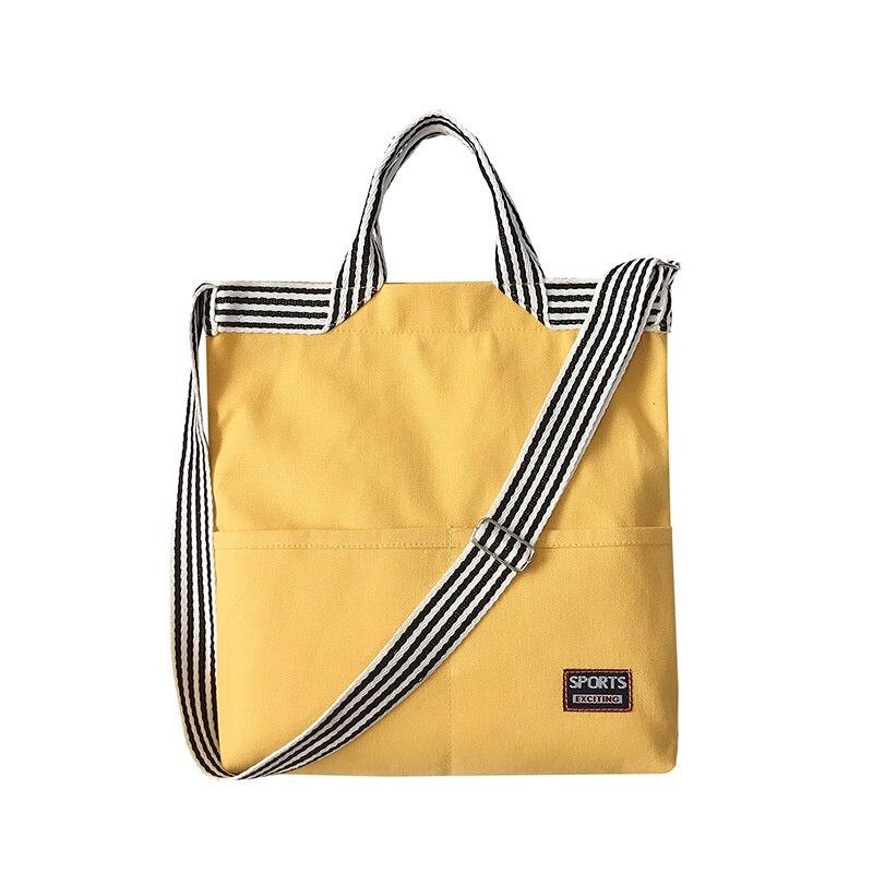 Bolso de hombro de lona monedero para mujer de bolsa de compras...