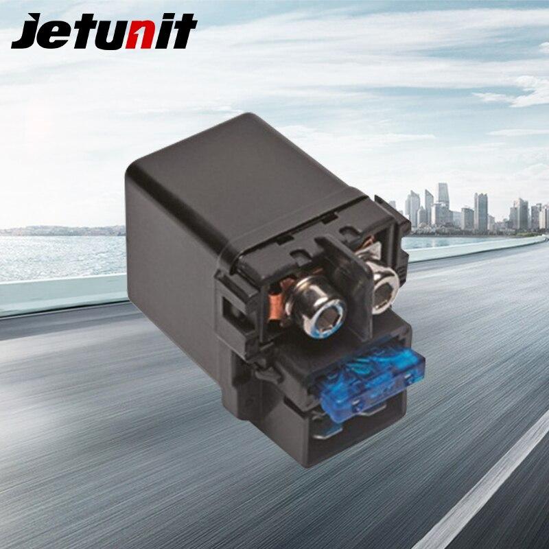 JETUNIT de arranque de la motocicleta de solenoide para Honda 35850-MR5-007 partes eléctricas accesorios de la motocicleta