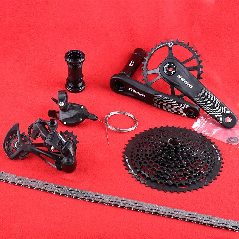 Sram SX Eagle DUB-مجموعة تروس سلسلة ، ذراع ناقل الحركة الخلفي ، 9-50T XD ، عجلة حرة X1 2021 1X12 ، مجموعة كرنك السرعة ، 1000