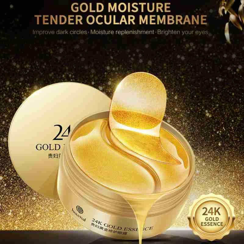 60Pcs Eye Mask Patch Gold Deep Nutrition Seaweed Crystal Collagen Anti Anti Aging Remove Dark Circles Eye Care недорого