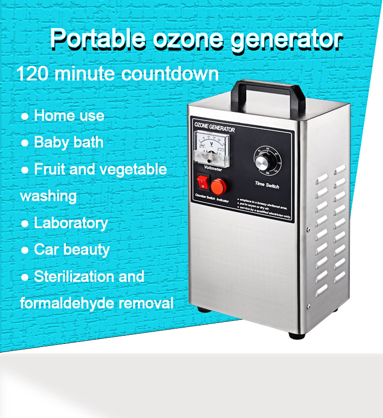 3g 220v  Ozone Generator Air Purifier For Home Air Purifier Fast Purification Odor Removal Ozone Generator mini car ozone air purifier home ozone generator car air cleaner odor remover o3 generator eliminator deodorization sterilizer