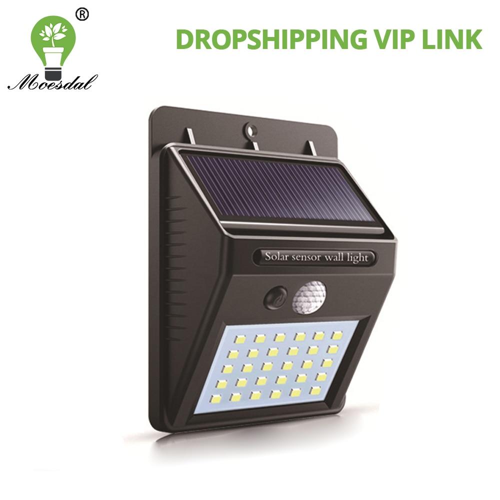 luz solar de led para area externa com sensor de movimento pir envio direto