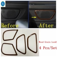 yimaautotrims side car door stereo speaker audio sound loudspeaker cover trim fit for mercedes benz vito w447 2014 2021