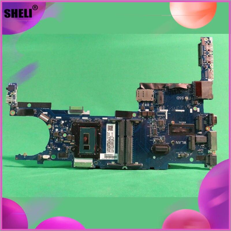 769718-001 para HP Elitebook 9480M ordenador portátil placa base 769718-501, 769718-601 SR1EE I5-4310U i5 4310U CPU placa madre del cuaderno de la Junta