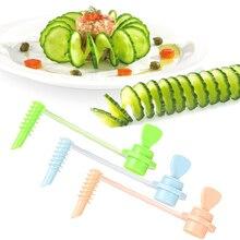 Kreative Obst Gemüse Spirale Slicer Küche Schneiden Gemüse Muster Geschnitzt Blumen Gadget Kartoffel Küche Werkzeuge Zubehör