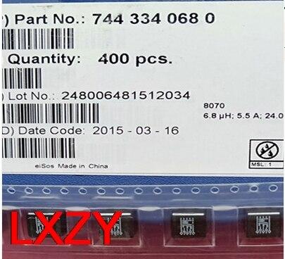 Envío gratis 10 unids/lote 7443340680 WE-HCC 6R8 6.8UH 7.5A 8,4X7,9X7,5 MM de alta actual inductor