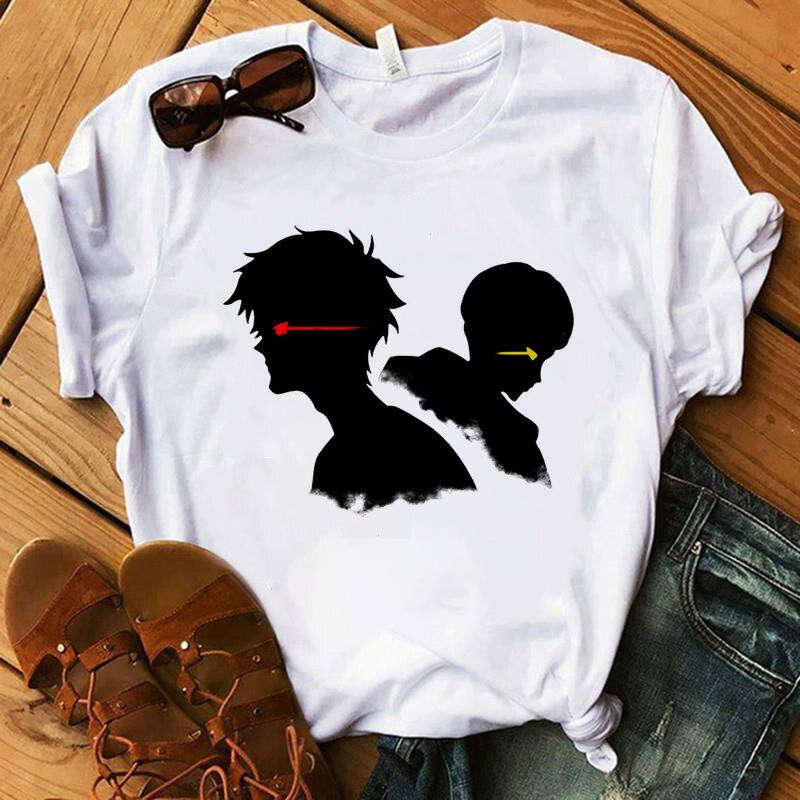DEVILMAN Crybaby Devilman Duo, хит продаж, футболка с японским аниме, Женская Футболка Harajuku, Забавные футболки с рисунком, эстетическая футболка