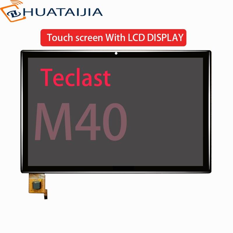 """Novo display lcd para 10.1 """"polegada tablet teclast m40 tela de toque digitador do painel vidro sensor para teclast m40"""