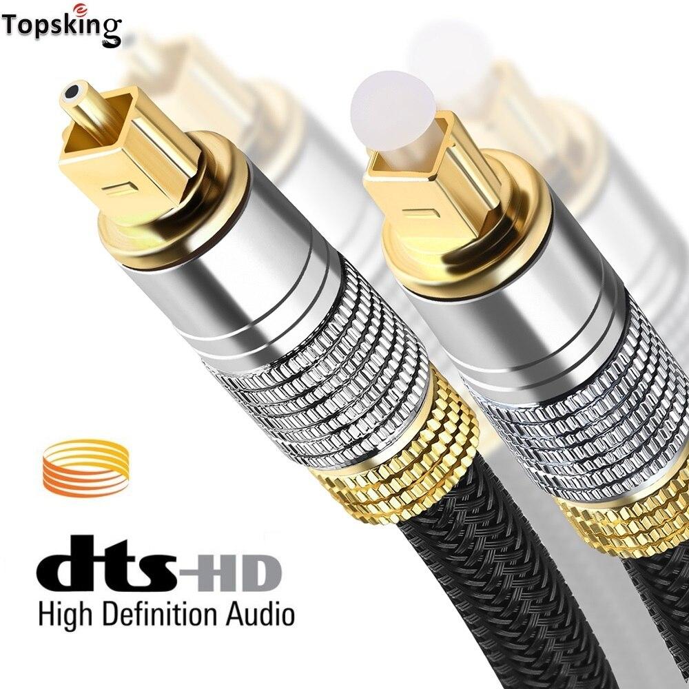 Digital Cable de sonido óptico Toslink 1m 3m 5m Coaxial Cable SPDIF...