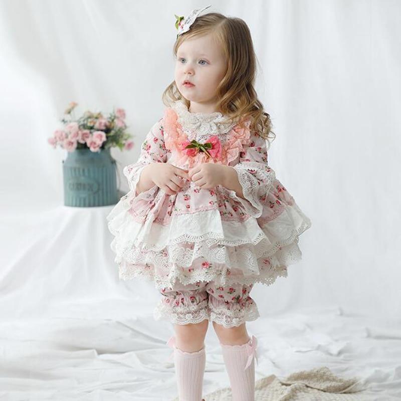 فساتين الربيع بأكمام طويلة ، ملابس الأميرة ، للفتيات ، ملابس الحفلات ، أعياد الميلاد ، السراويل
