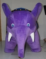 inflatable elephant party and showwonderful elephant mascot costume suits adult