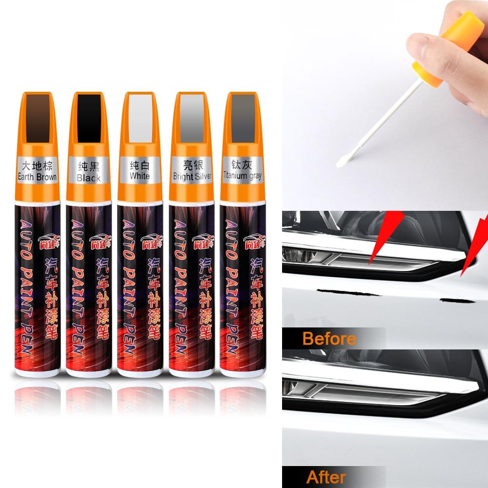 1 pieza de lápiz de pintura para reparación de arañazos de coche Pro, bolígrafos de pintura transparentes para JEEP renegade wrangler jk compass wrangler patriot