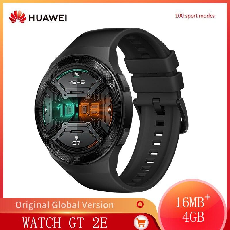 Review Original HUAWEI Watch GT2E GT 2E 100 Workout Modes Smart Watch Heart Rate Tracker Health Features Sport Tracker Music SmartWatch