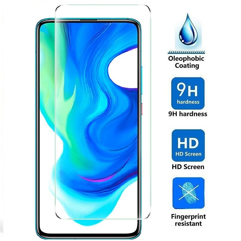 3PCS Tempered Glass for Xiaomi Pocophone F2 Pro poco X2 F1 Screen Protector for POCO X3 NFC Glass Pr