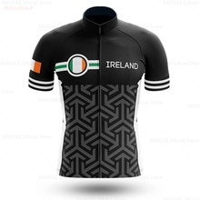 Irlande 2020 Maillot cycliste Pro Team Maillot été homme Ciclismo manches courtes Lycra Camisa Maillot vtt Maillot Ciclismo Hombre