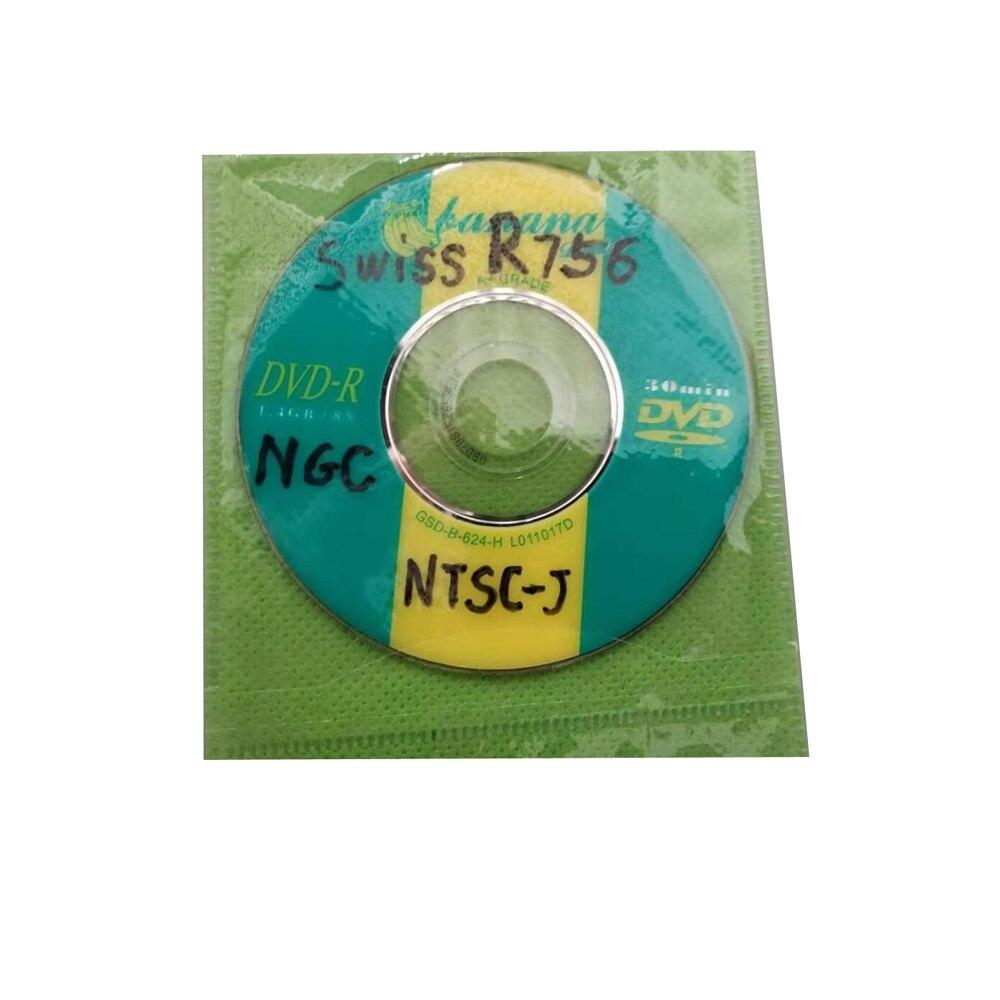 100 قطعة مجموعة السويسري التمهيد القرص دي في دي صغير ل N-G-C ل NTSC PAL الإصدار